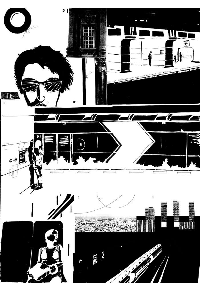 funkfu comics collage 1001 nights
