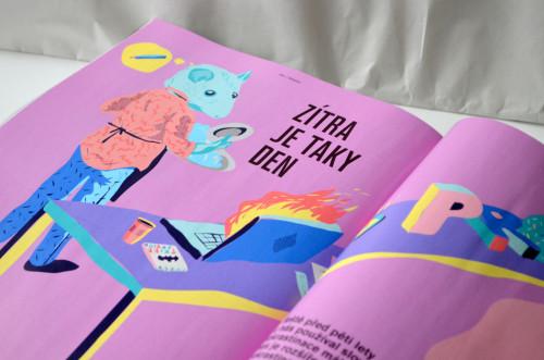 Procrastination illustration vector funkfu